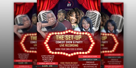 The Set Up Comedy Show & Party tickets
