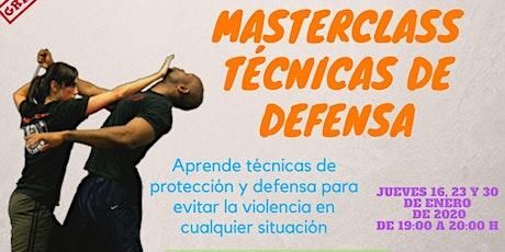 Técnicas de Defensa entradas