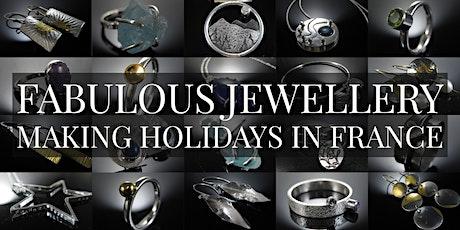 La Vidalerie Silver Jewellery Workshop 3 Days / 4 Nights Inc Accommodation billets