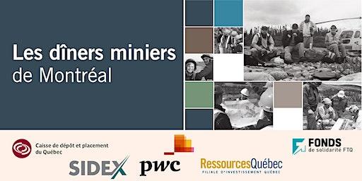 Les Dîniers Miniers de Montréal - Montreal Mining Lunches