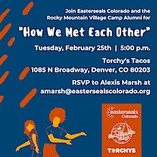 Rocky Mountain Village Alumni - How We Met Each Other tickets