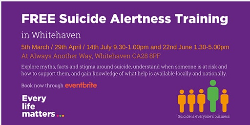 Suicide Alertness Training - Whitehaven