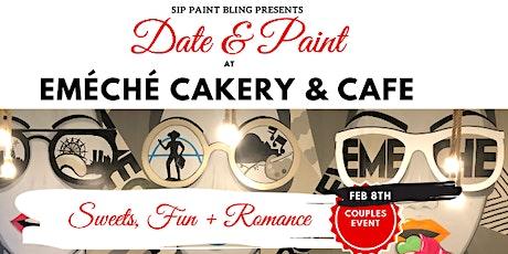Date & Paint at Emèchè Cakery and Café tickets