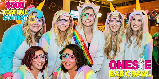 Onesie Bar Crawl - Green Bay