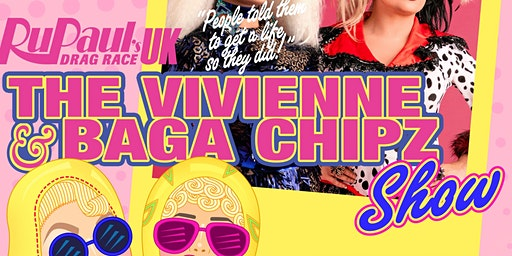 Klub Kids Brighton presents The Vivienne & Baga Chipz Show (ages 14+)