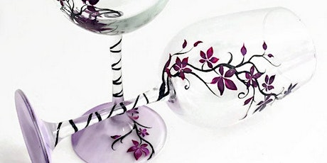 NYC Wine Glass Painting Class tickets