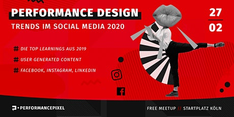 Performance Design für  FB, Insta & LinkedIn 2020 | Kostenloses Meetup Tickets