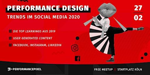 Performance Design für  FB, Insta & LinkedIn 2020 | Kostenloses Meetup