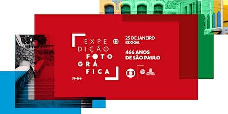 Expedição Fotográfica Globo SP 466 ingressos