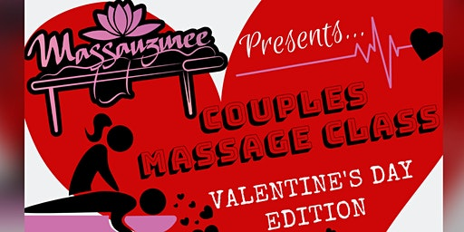 Valentine's Day Couples Massage Class