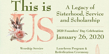 2020 Founders' Day AKA Epsilon Sigma Omega Chapter tickets