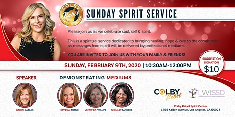 Sunday Spirit Service 2/9/20-Los Angeles tickets