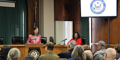 Congresswoman Luria's Town Hall Meeting