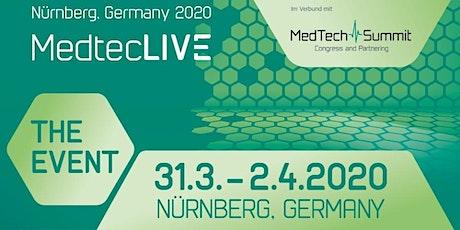 MedtecLIVE – DAS Event für die Herstellung von Medizintechnik Tickets