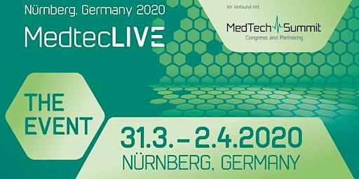 MedtecLIVE – DAS Event für die Herstellung von Medizintechnik