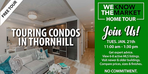 Touring Condos In Thornhill
