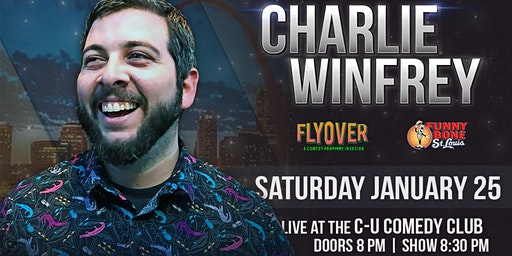 Comedian Charlie Winfrey (STL Funny Bone, Fly Over Fest) in Champaign