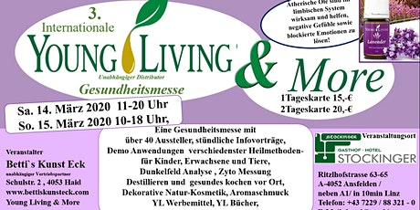 3. Internationale Gesundheitsmesse Young Living & More Tickets