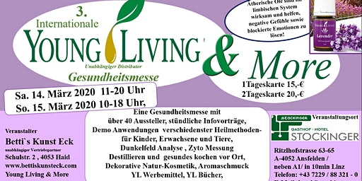 3. Internationale Gesundheitsmesse Young Living & More