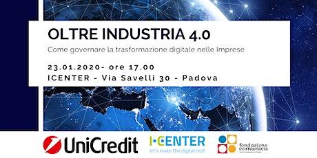 Oltre Industria 4.0. biglietti