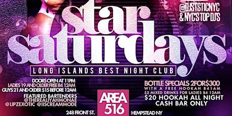 STAR SATURDAYS tickets