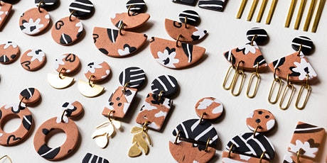 Polymer Clay Earrings Workshop with Abby Weeden tickets