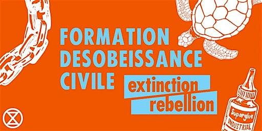Formation à la désobéissance civile non-violente XR  09/02 (NON MIXTE)