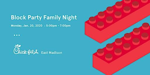 Family Night: Block Party