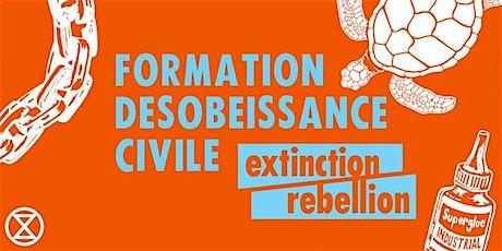 Formation à la désobéissance civile non violente XR Fribourg 26/04/20 billets