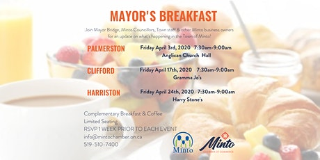 Palmerston Mayor's Breakfast tickets