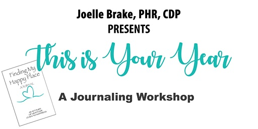 Finding My Happy Place - A Journaling Workshop