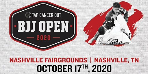 Tap Cancer Out 2020 Nashville BJJ Open - Coach and Spectator Tickets