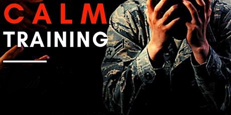 CALM Training tickets