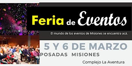 Feria de Eventos de Misiones entradas