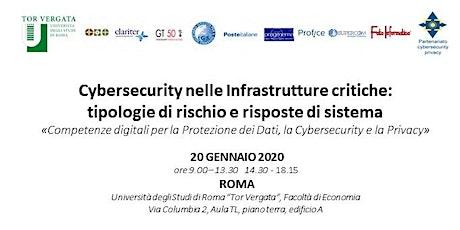 3° CONFERENZA NAZIONALE PPP Cybersecurity nelle Infrastrutture critiche biglietti