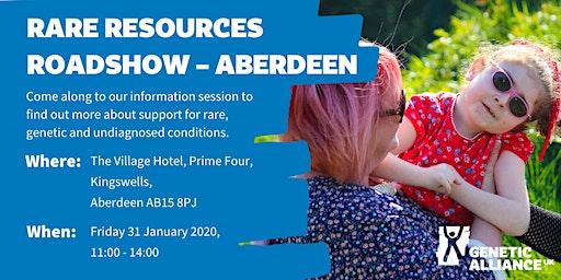 Rare Resources Roadshow - Aberdeen