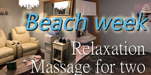 Beach Week Relaxation Massage for Two