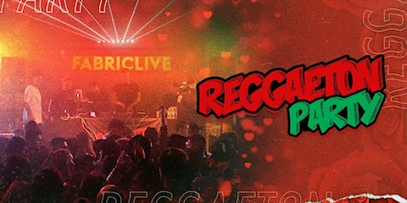 Reggaeton Party fabric Takeover tickets