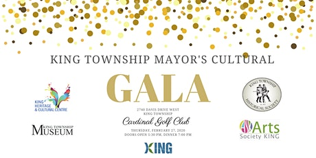 King Township Mayor's Cultural Gala tickets