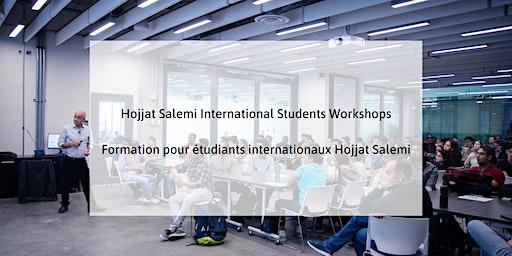 Third Session- Hojjat Salemi International Students Workshop Series