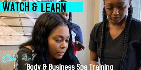 2020 Body and Business Spa Training : SESSION 6 CHICAGO  tickets