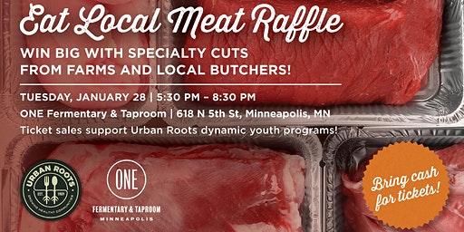 Eat Local Meat Raffle Fundraiser