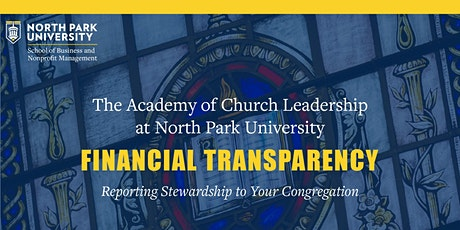 Financial Transparency: Reporting Stewardship to Your Congregation tickets