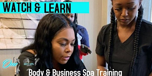 2020 Body and Business Spa Training : SESSION 5 DALLAS