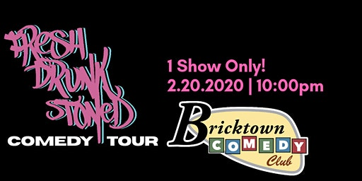 FREE TICKETS | BRICKTOWN COMEDY CLUB 2/20 | Stand Up Comedy Show