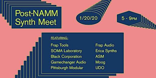 Post-NAMM Synth Meet