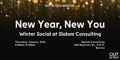 Out in Tech BOS | New Year, New You tickets