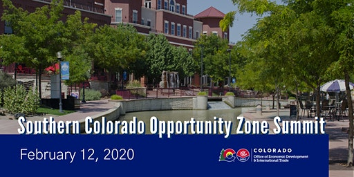 Southern Colorado Opportunity Zone Summit