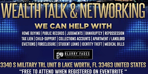 Wealth Talk & Networking Event