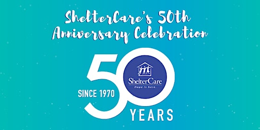 ShelterCare 50th Anniversary Celebration
